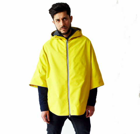 Otto London Urban Poncho - Bright Yellow