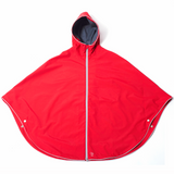 Otto London Urban Poncho - Bright Red