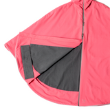 Otto London Urban Poncho - Calido Pink