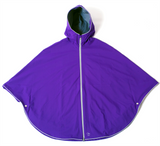 Otto London Urban Poncho - Royal Purple