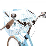 Bobbin bicycle carry basket - Blue