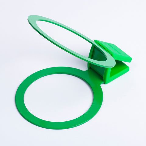 Bookman Cup Holder - Shamrock Green