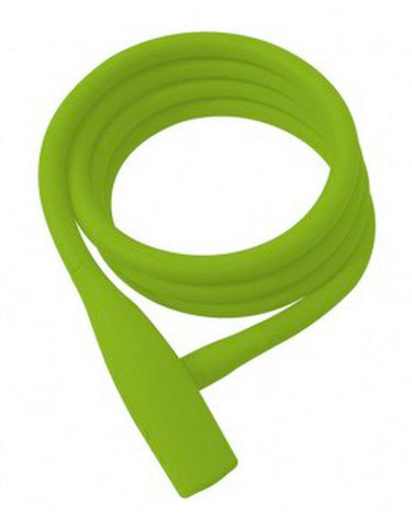 Knog Party Coil Lock - Lime Green