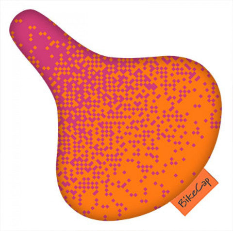 Bike Cap Pixels Seat Cover