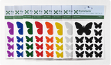 Rydesafe reflective bicycle decals - butterfly