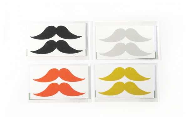 Rydesafe Moustache Decals