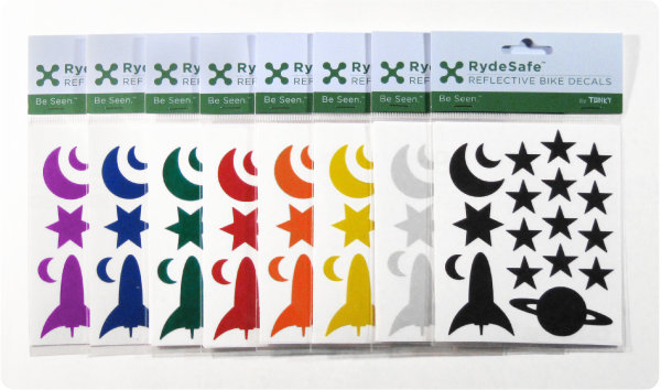 Rydesafe Outer Space Decals