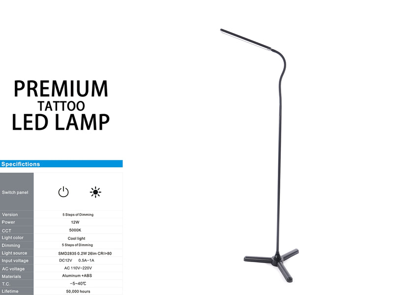 PREMIUM LED TATTOO LAMP (STAND)