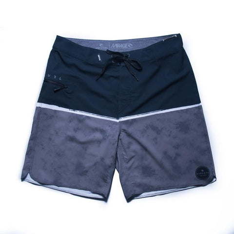 "Rip Curl Mirage Split Dye 19"" Boardshort (Black)"
