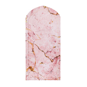 His & Hers Prayer Mat - Pink Marble