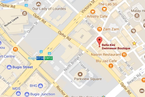 Google Map BELLA KINI