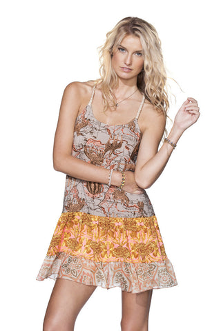 MAAJI 1222APX:  Georgia Sweet Tea  Short Dress