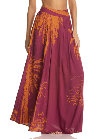MAAJI Mystical Bloom Long Skirt