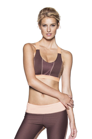 MAAJI 1596STX: CITRUS BLOCK Sports Bra