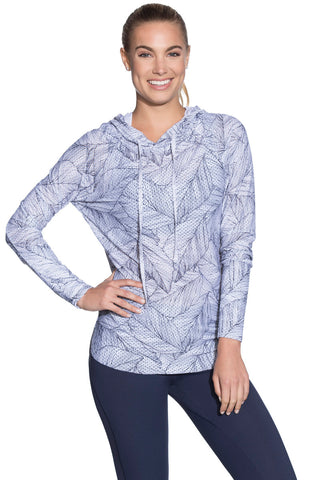 MAAJI 1785ALY02: Mesh Waves Printed Long Sleeve Layer