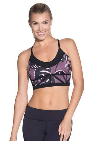 MAAJI 1829ASB01: Charmed Leaf Sports Bra
