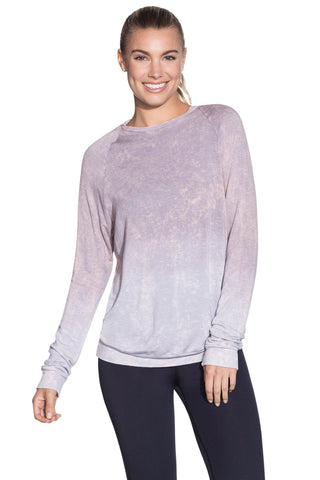 MAAJI 1855ALS02: Glee Amethyst Long Sleeve Layer
