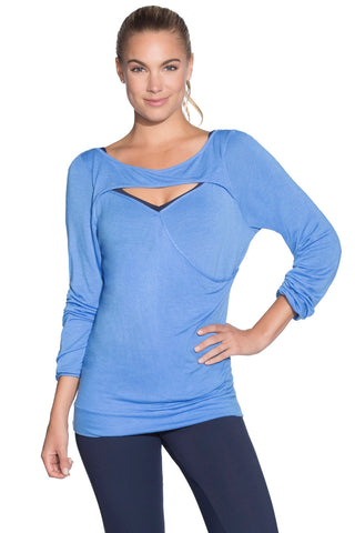 MAAJI 1860ALY02: Crescent Cloud Blue Long Sleeve Layer