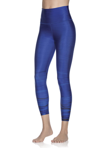 MAAJI Native Scenic Azure High-waist Reversible Leggings