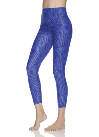 Maaji Dazeful Inca Azure High Rise Leggings