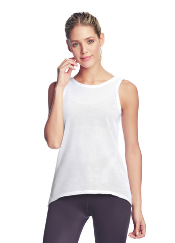 MAAJI Relay White Pullover Tank Top