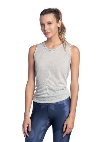 MAAJI Whirl Pebble Sleeveless Back Twist Knit Tank Top