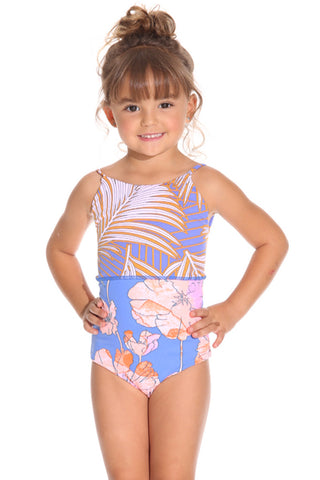 MAAJI Magnificient Arrecifes Reversible Girl One Piece Swimsuit