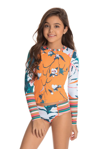 MAAJI Backstage Fun Girls Rashguard Set