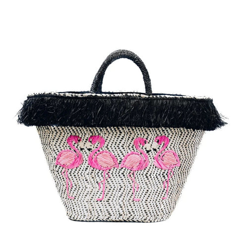 Style Cat Aruba: Basket Tote  Bag