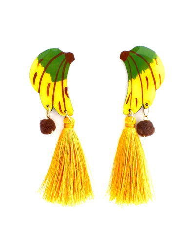 Nuez Moscada: Banana Earrings