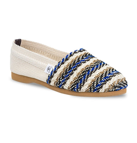 Soles For Change Baru - Brown Blue Espadrilles
