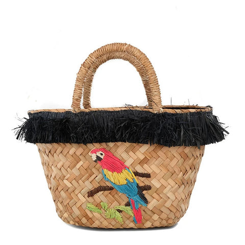 Style Cat Costa_Rica: Basket Tote  Bag