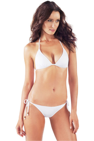 Voda Swim E01_White: Envy Push Up ® String  Bikini Set