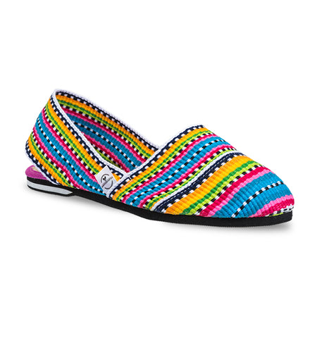 Soles For Change Pink Ethnic Summer Espadrilles