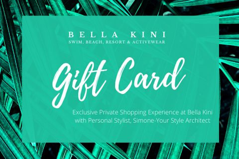 Exclusive Private Shopping with Personal Stylist Service Gift Card