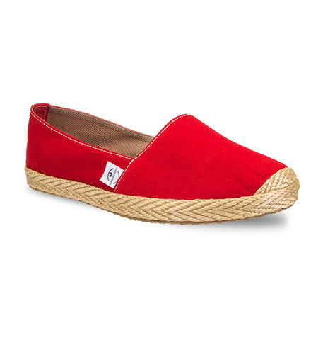 Soles For Change Guajira Red Espadrilles