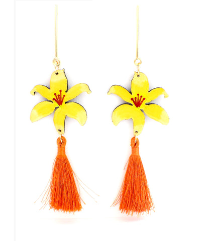 Nuez Moscada: Lily Earrings