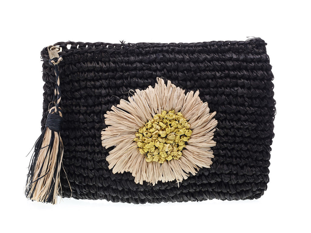 Bella-kini Style Cat Mimosa-Black Cosmetic Pouch Mimosa-Black_1.jpg