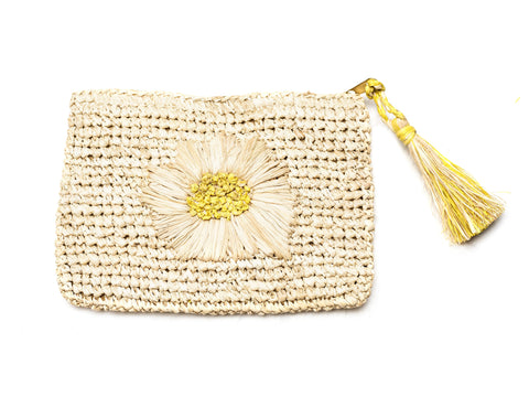 Style Cat Mimosa Natural Cosmetic Pouch