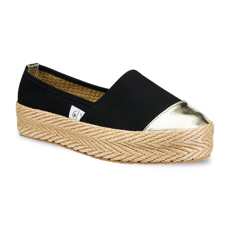 Soles For Change Mompox Gold Espadrilles