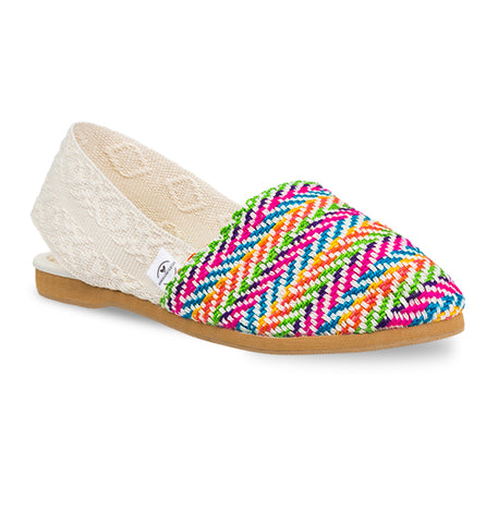 Soles For Change Multi White Espadrilles