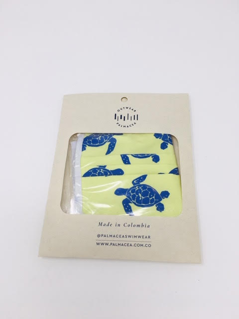 PALMACEA Sea Turtles Anti-fluid 3 Fold Face Mask