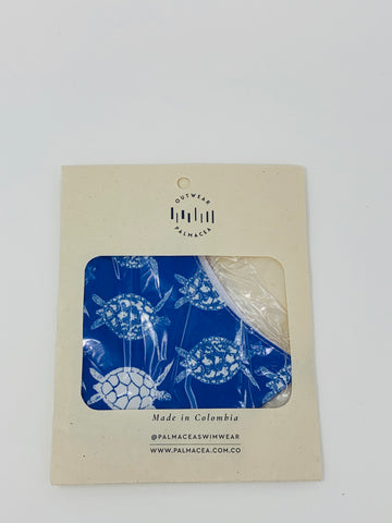 PALMACEA Carefree Turtles 2 Ply Anti-Fluid Face Mask
