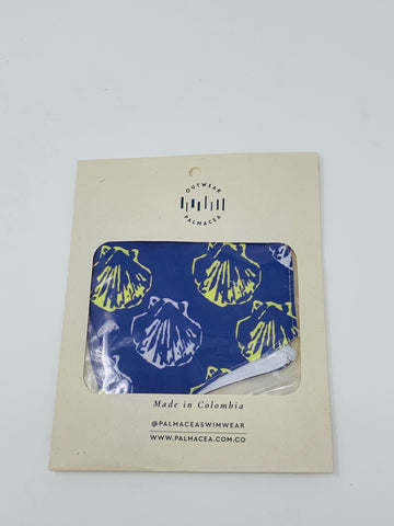 PALMACEA She Sell Seashells 2 Fold Anti-Fluid Face Mask