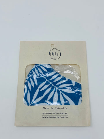 PALMACEA Tropical Blue Vibes 2 Fold Anti-Fluid Face Mask