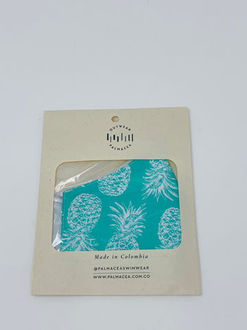 PALMACEA Pineapple Power 2 Ply Anti-Fluid Face Mask