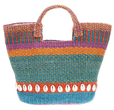 Style Cat Praiano Fiesta Tote Basket Bag