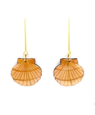 Nuez Moscada: Seashell Earrings