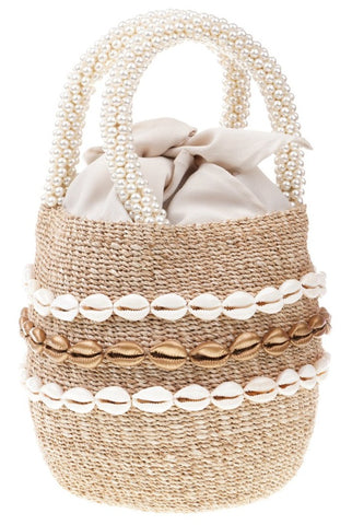 Style Cat Sicily Natural Basket Bag