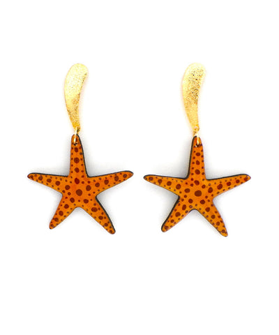 Nuez Moscada: Starfish Earrings